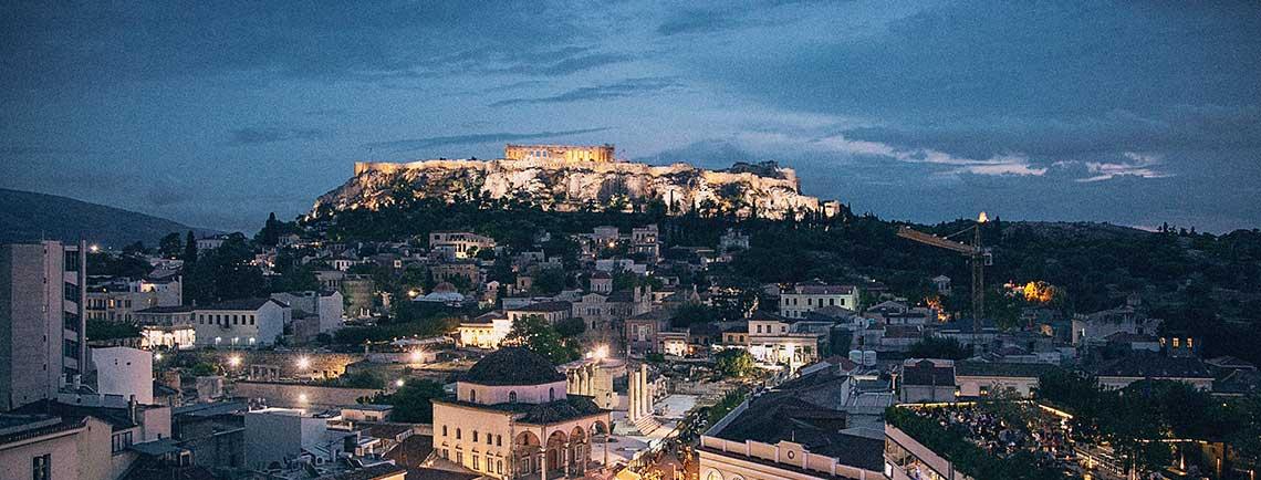 Anafiotika en colina Acropolis