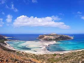 Laguna de Balos en Creta