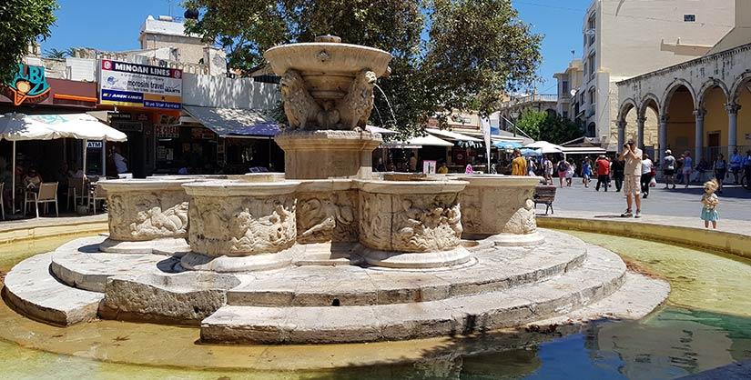 Fuente Morosini en Heraklion
