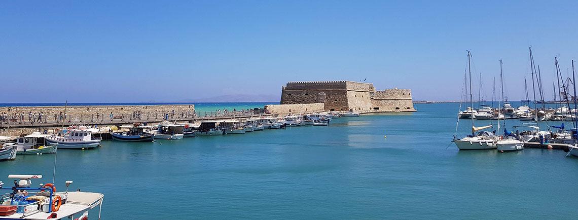 Fortaleza de Koules desde el puerto