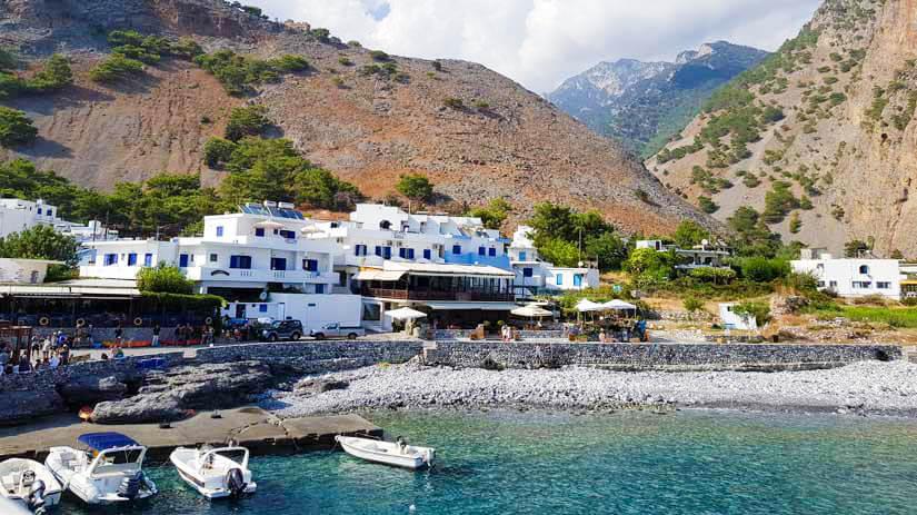 Agia Roumeli Creta Grecia