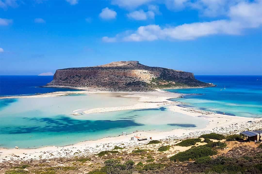 Laguna de Balos en Creta, Grecia